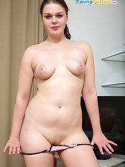 chubby nude Shy